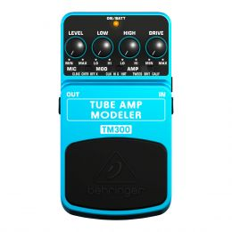 Pedal Amp Modeler p/ Guitarra - TM 300 Behringer