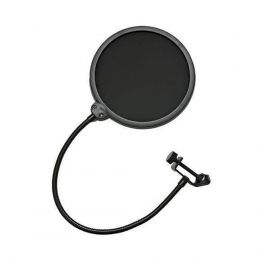 Pop Filter PS1 Anti Puff Filtro 6 Polegadas SMART