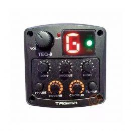 Pré-equalizador 3 Bandas 9V Tagima TEQ9