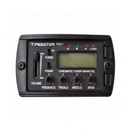 Pré amplificador equalizador 4 Bandas 9V Tagima TEQ7