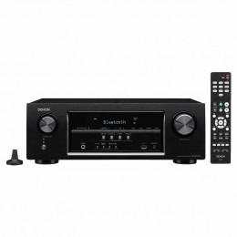 Receiver Denon AVR S 530 BT 5.2 Canais c/ 5 HDMI / Bluetooth