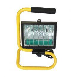 REFLETOR SIMPLES HALOGÊNIO 500W C/SUPORTE 220v - CSR