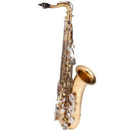 Saxofone Tenor WTSM49 BB Duplo Dourado com Chaves Niqueladas - Michael