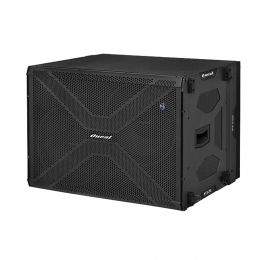 Subwoofer amplificado Oneal 2x15