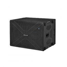 Subwoofer amplificado line array OLS8500 2x15 Polegadas 3000W Oneal