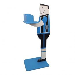 Suporte para Controle Remoto Os Magrinhos MDF Grêmio Azul