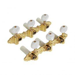 Tarraxas blindadas Douradas para Violão Nylon 6 cordas Tagima