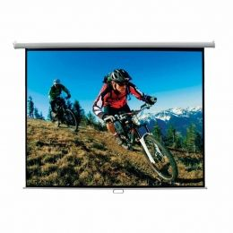 Tela de Projeção Voxtron By Mynjko VOX TELA 150 Q RET Quadrada 1,50 x 1,50mt Retrátil