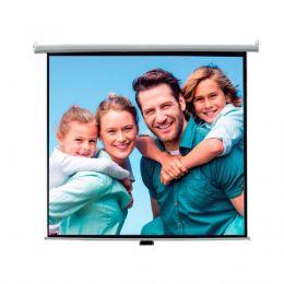 Tela de Projeção Voxtron By Mynjko VOX TELA 180 QUA Quadrada 1,80 x 1,80mt Retrátil