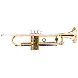 Trompete WTRM66 BB Duplo Laqueado e Tubos em Alpaca - Michael