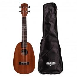 Ukulele Malibu Abacaxi Concert Sapele 23S