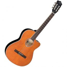 Violão Elétrico Galaxy Semiflat VM225ESH Encordamento Nylon Satin Honey Michael