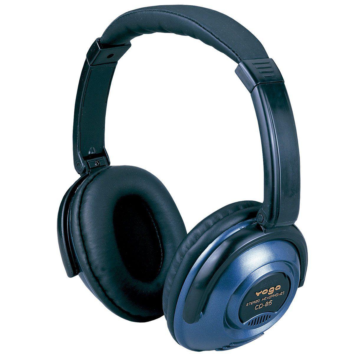 Fone de Ouvido Headphone Azul Yoga Cd85