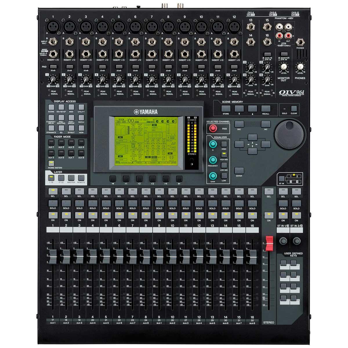 Mesa De Som Digital Yamaha 01v96i Mesa De Som Digital