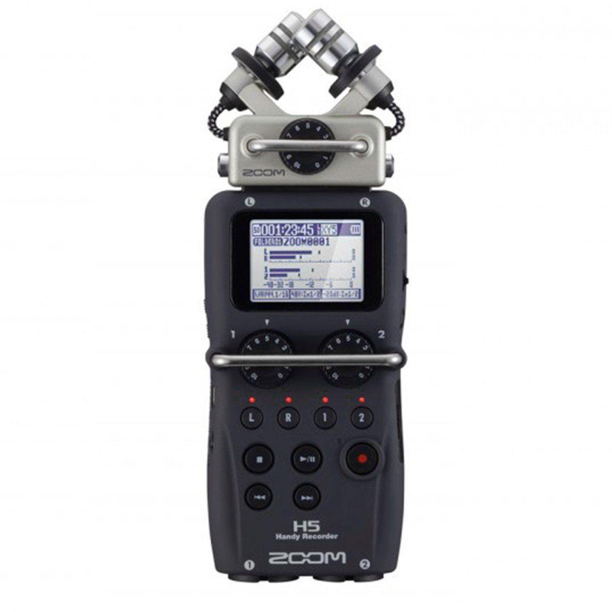 Gravador Digital 24 Bits 4 Canais - H 5 Zoom
