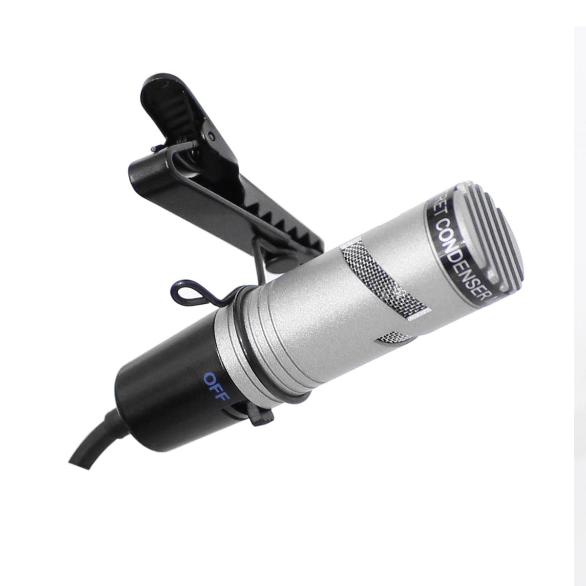 Microfone Com Fio Lapela Sc400 Yoga