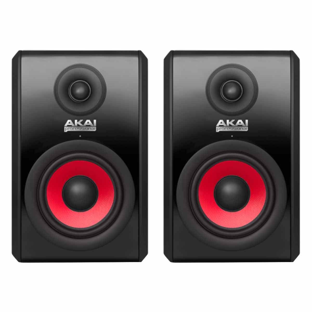 Monitor de Referência Ativo Fal 5 Pol 90W (Par) - RPM 500 RED AKAI