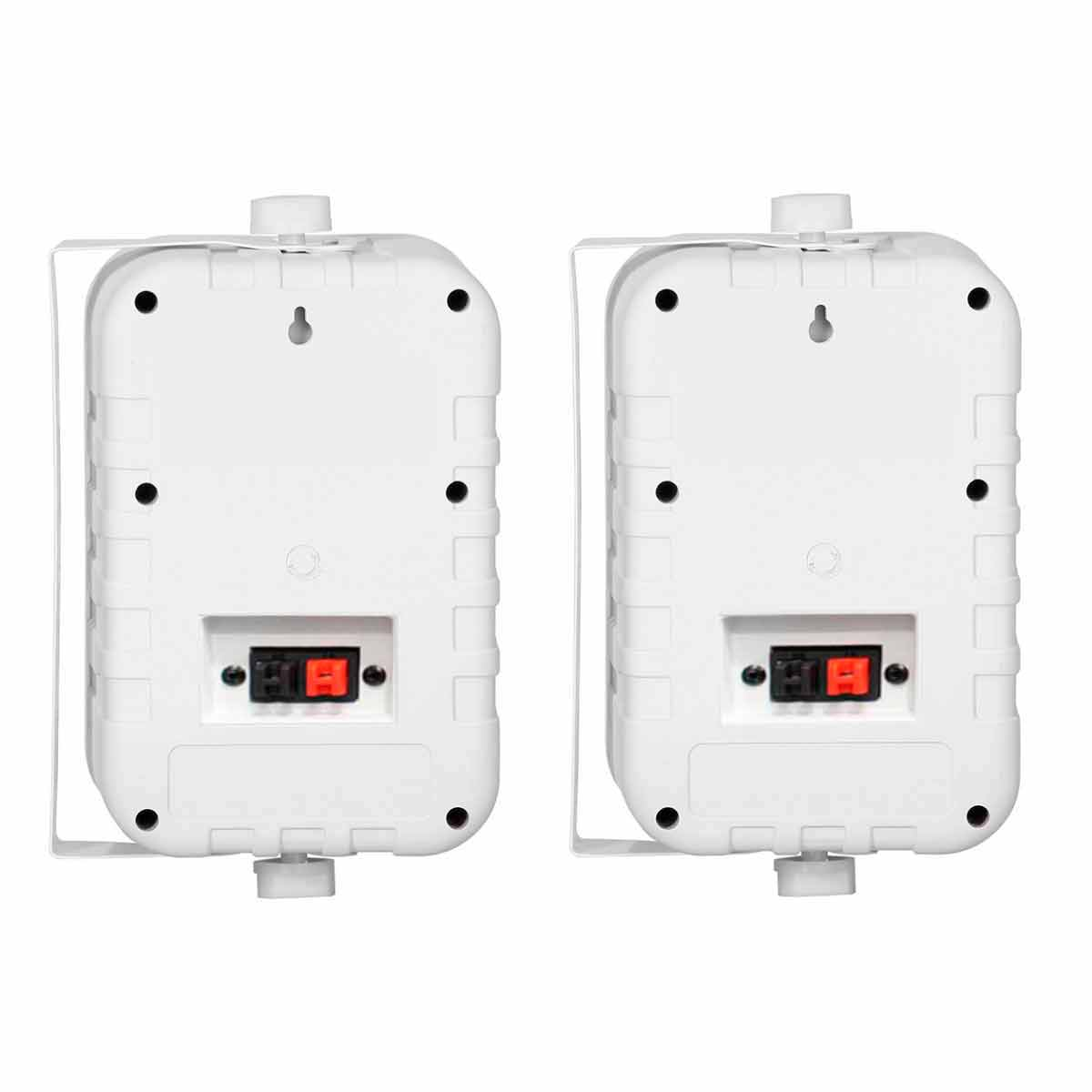 Caixa Passiva p/ Som Ambiente Fal 4 Pol 60W c/ Suporte (Par) - SP 400 Donner