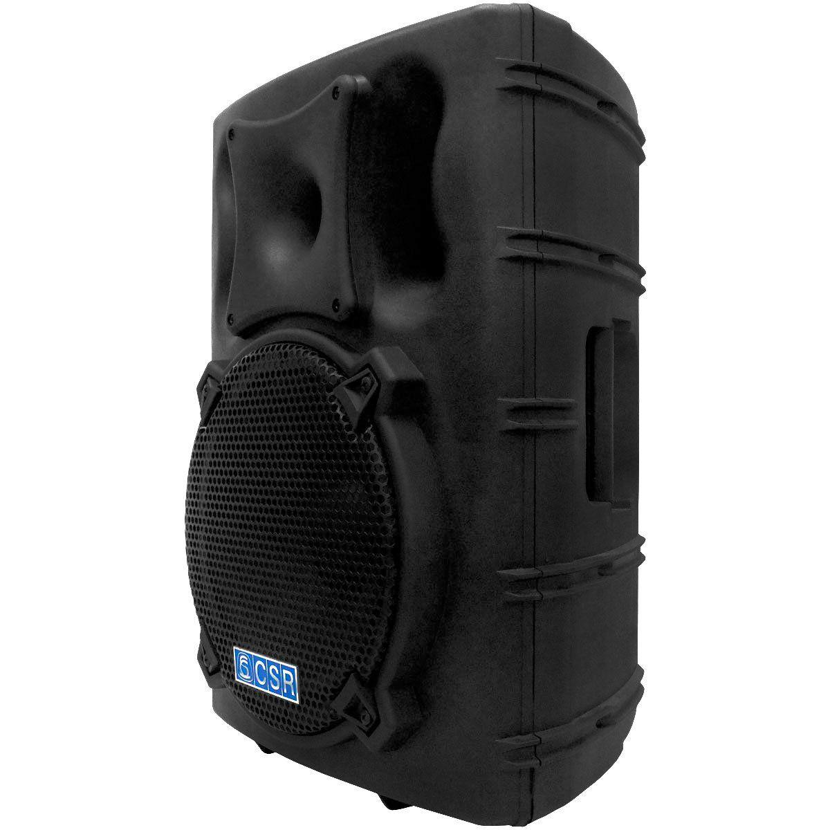 Caixa Amplificada CSR 3000 A de 12 Polegadas 200w c/ 3 Entradas + Echo
