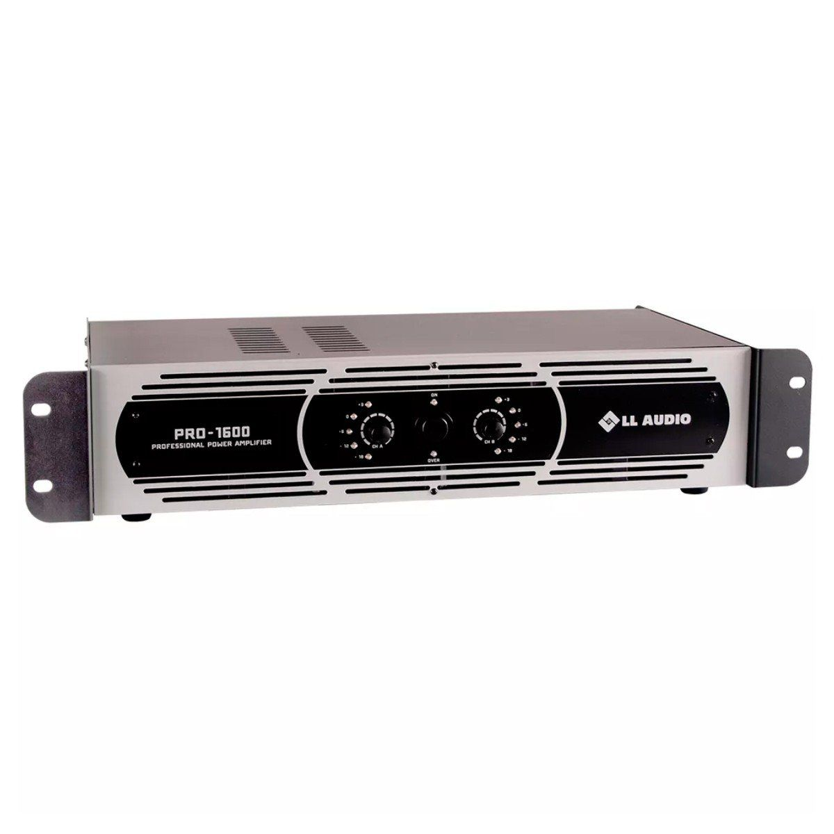Amplificador de Potência 400W 4 OHMS PRO 1600 - LL AUDIO