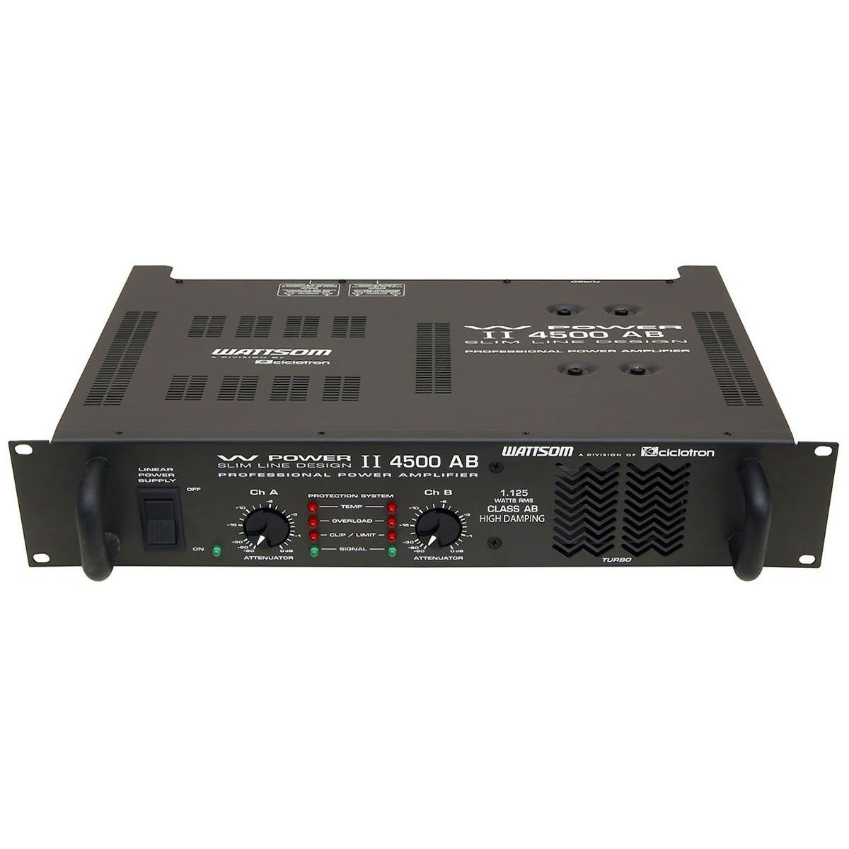Amplificador de Potência 1125W 4 Ohms - W POWER II 4500 AB Ciclotron