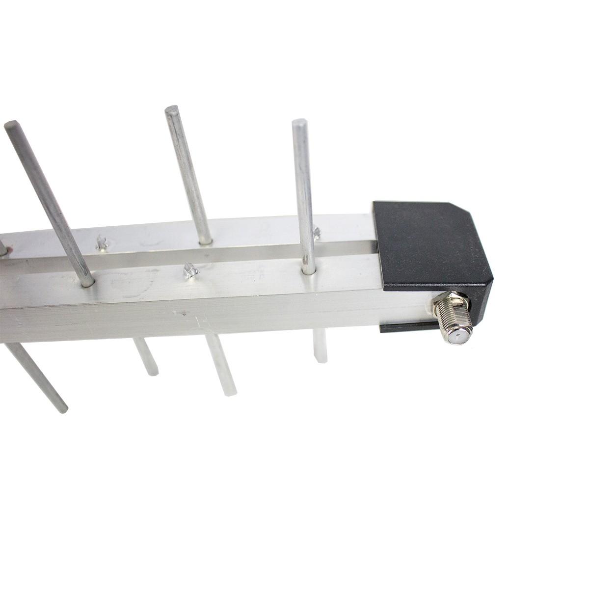 Antena Externa p/ TV UHF/3D/HDTV - Log Periódica PQ 45 1300 HD ProEletronic