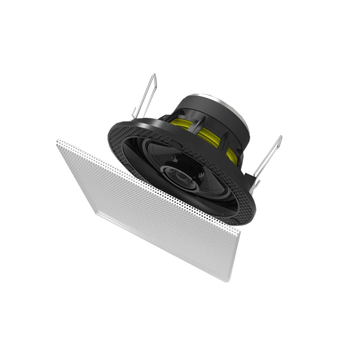 Arandela Coaxial Quadrada Fal 3.5 Pol 30W - S 1 BSA
