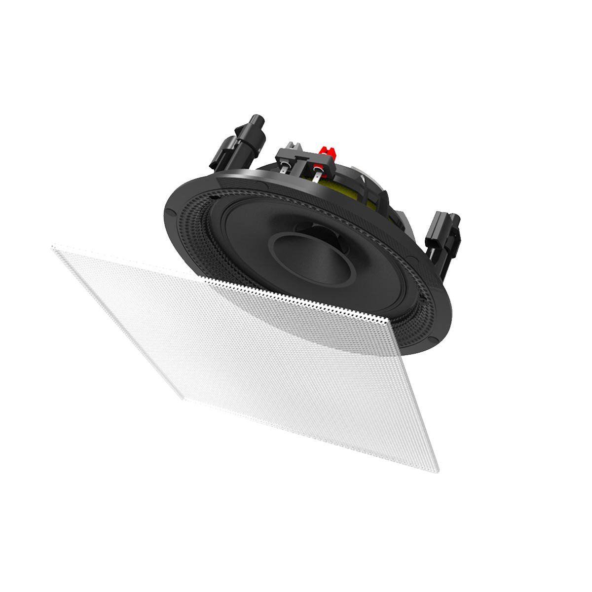 Arandela Full Range Quadrada Fal 6.5 Pol 40W - S 2 BSA