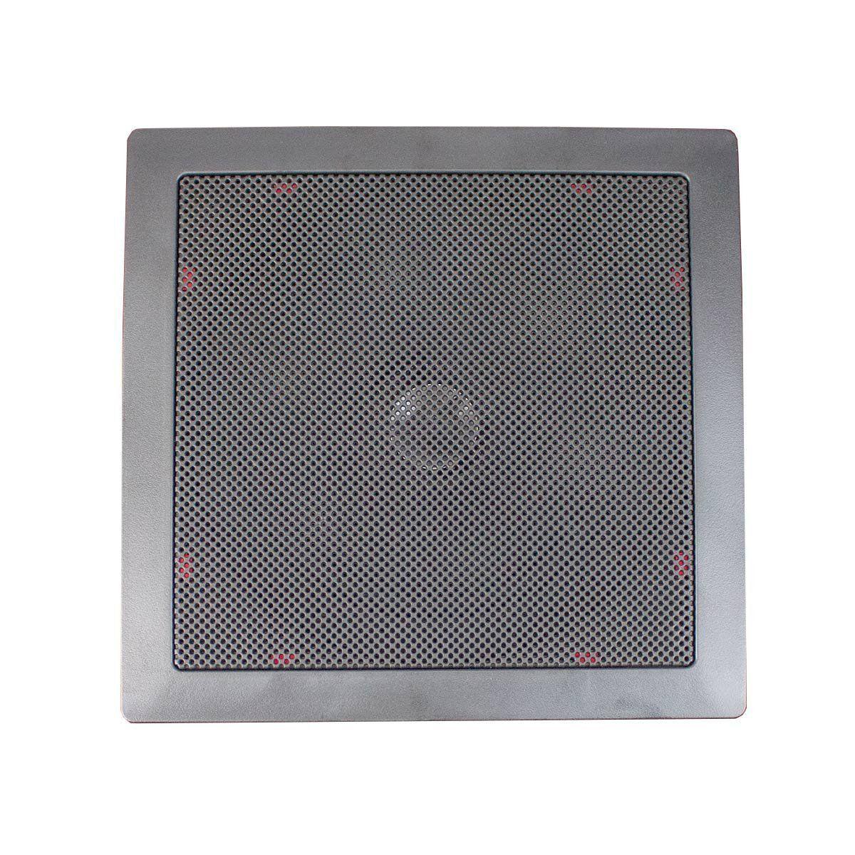 Arandela Quadrada Coaxial 6 Polegadas 50W 2210 - Fiamon