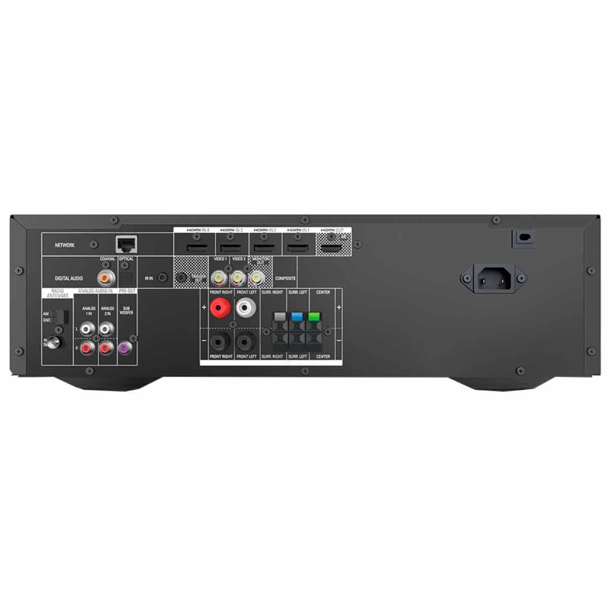Receiver 5.1 Canais 4 HDMI c/ Lan AVR 1510S - Harman Kardon