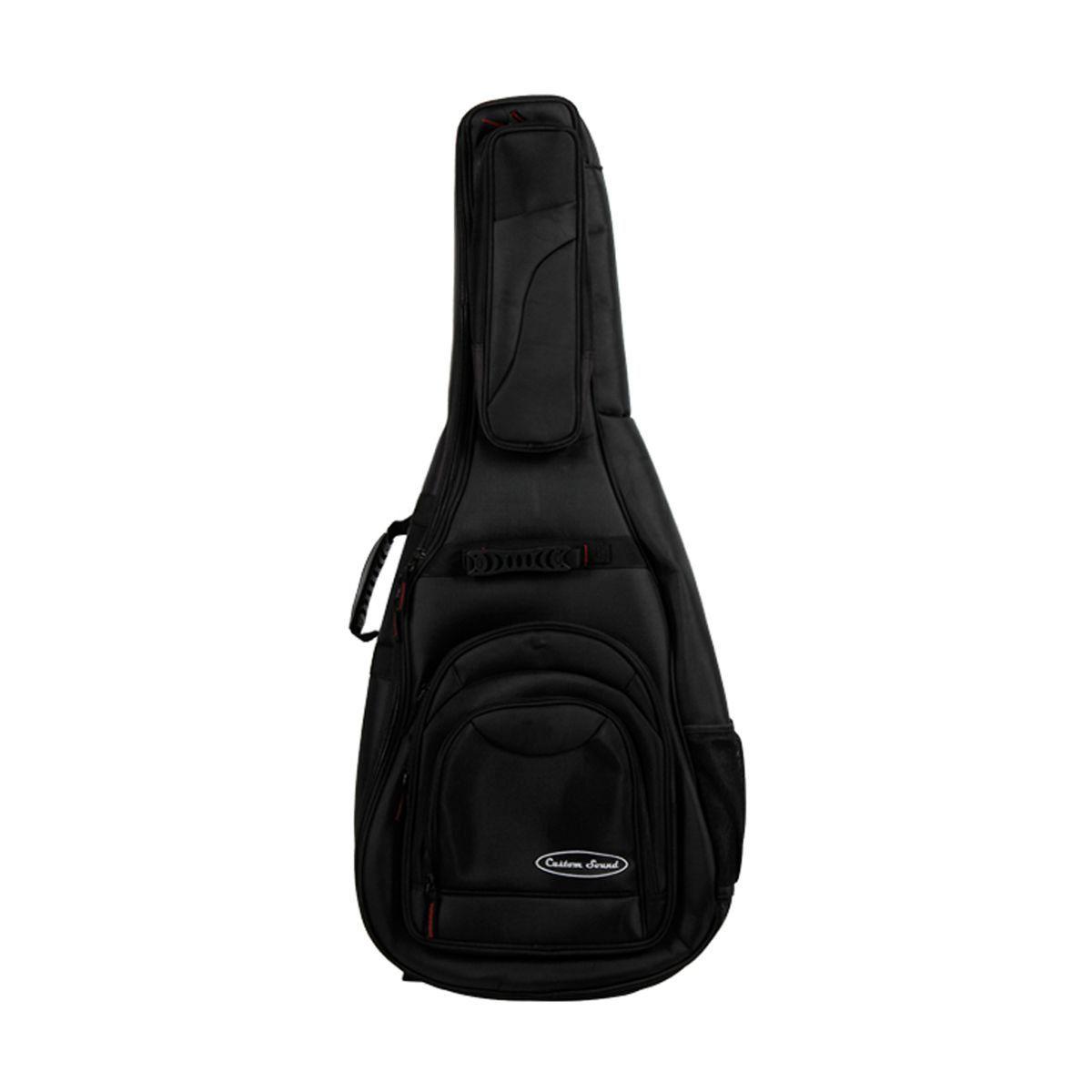 Bag Violão Clássico Custom Sound VC 2 BK