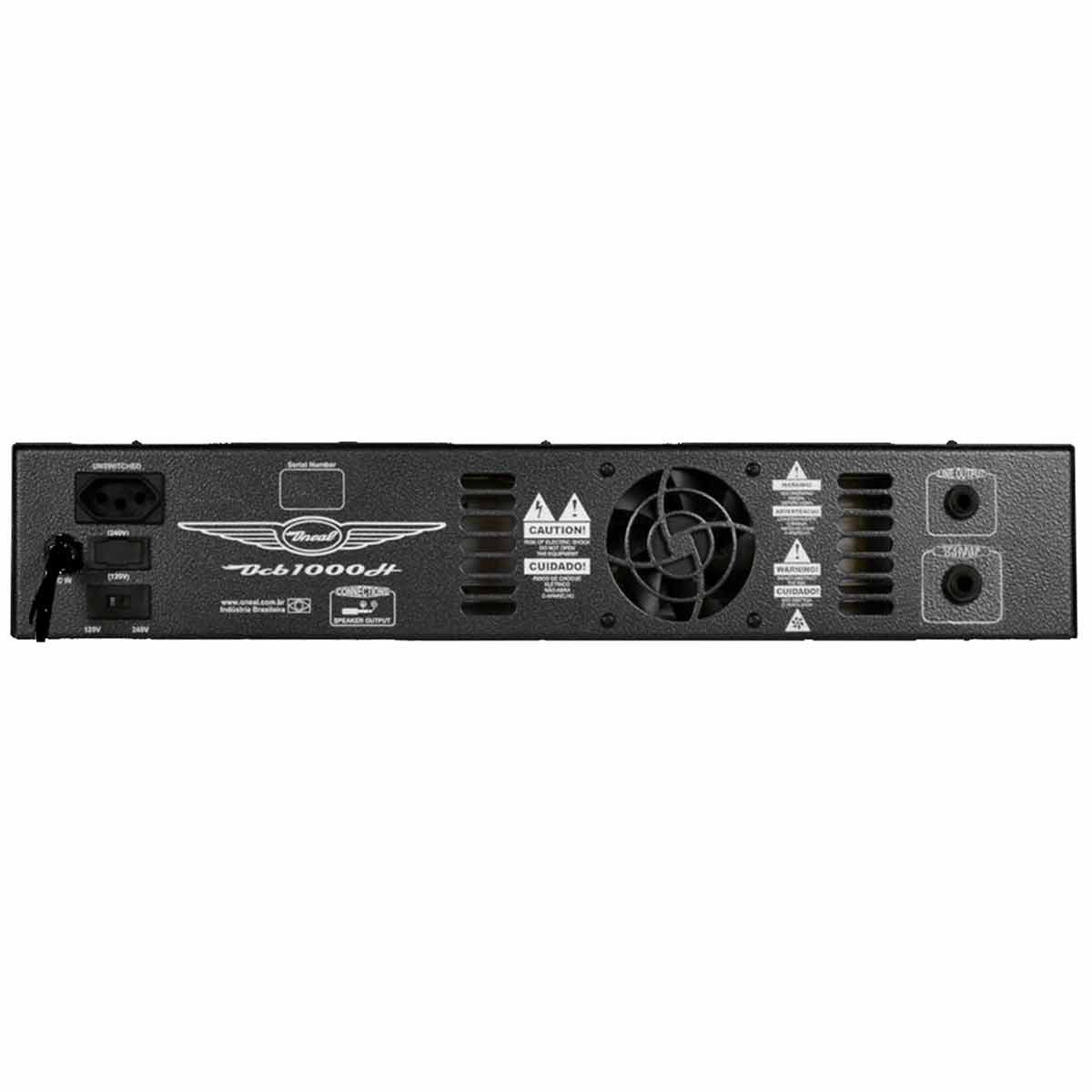 Cabeçote p/ Contrabaixo 350W - OCB 1000 H Oneal