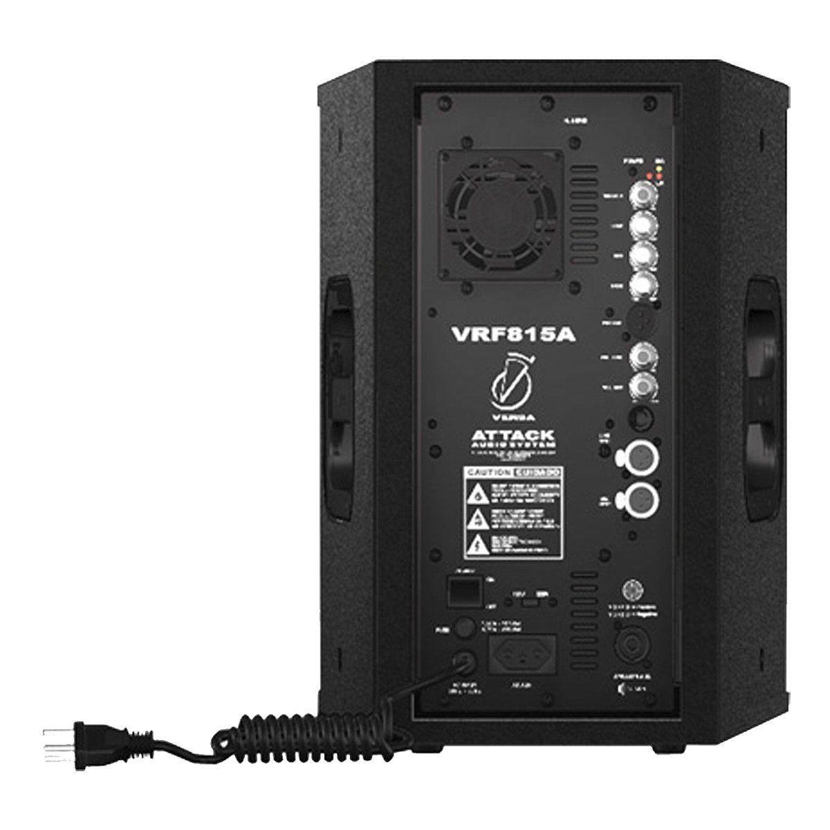 Caixa Ativa Fal 8 Pol 150W VRF 815 A - Attack