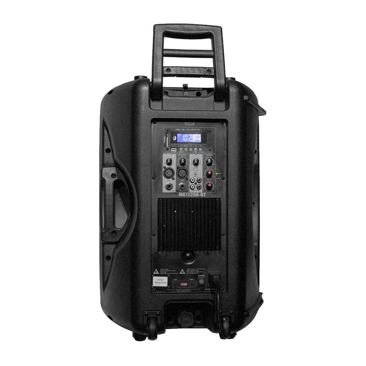 Caixa Ativa Mark Audio MK1220A-BT Falante 12 polegadas