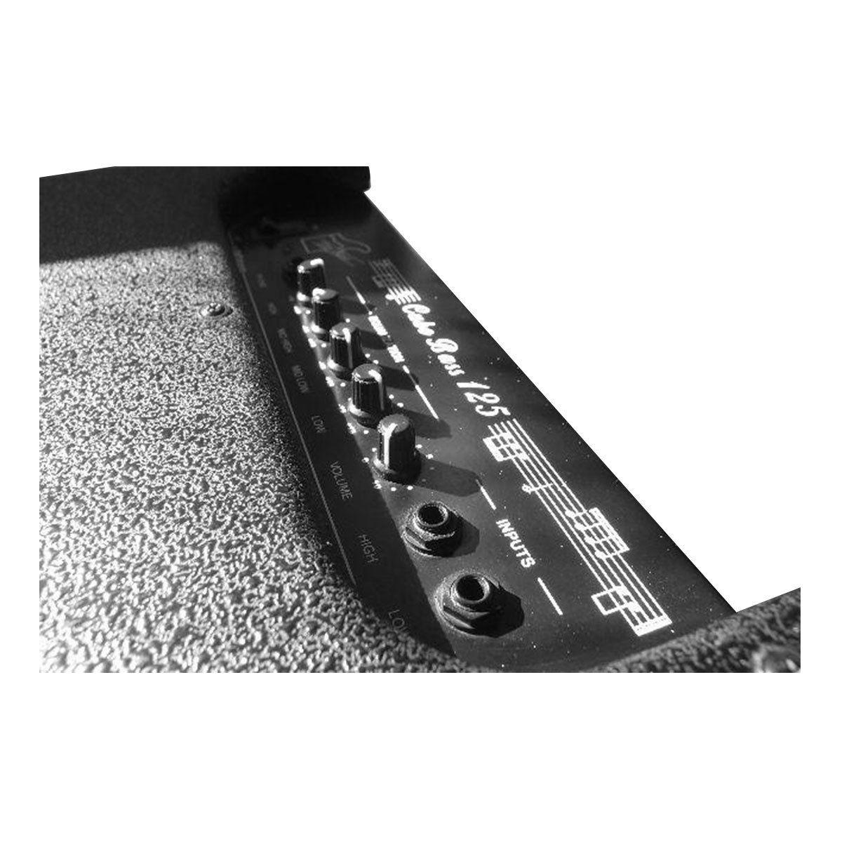 Cubo Ativo p/ Contrabaixo Fal 12 Pol 75W CB 125 - Voxstorm