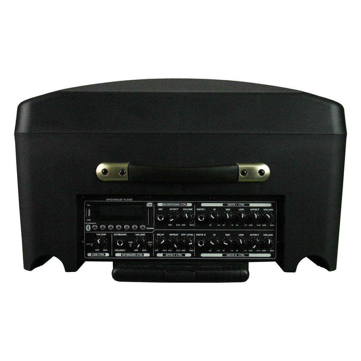 Cubo Multiuso Voxtron By CSR VOX MT 12A Amplificado Falante 12 polegadas 100W com Player USB/Bluetooth/Microfone e Bateria