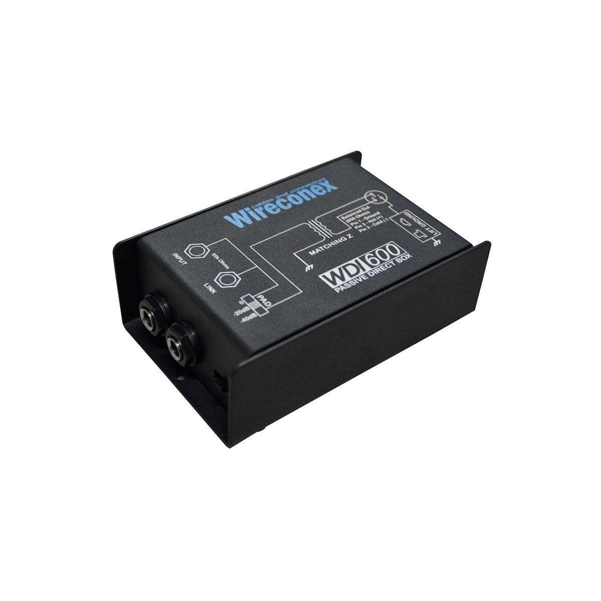 Direct Box Passivo Voxtron by Wireconex VOX WDI 600 1 Canal