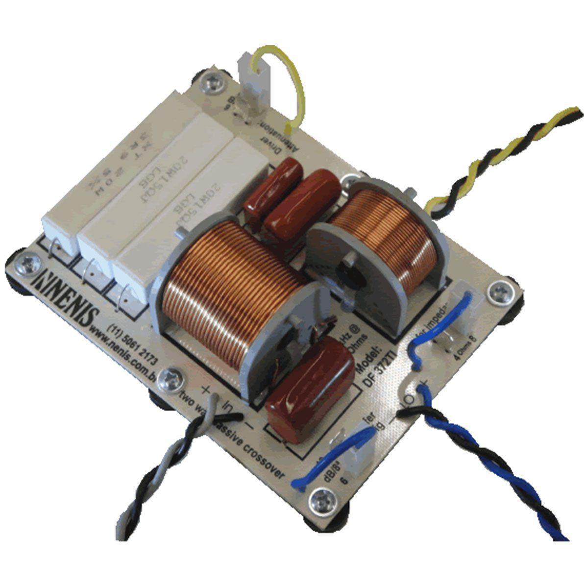 Divisor de Frequências Passivo 2 Vias 370W - DF 372 TI Nenis