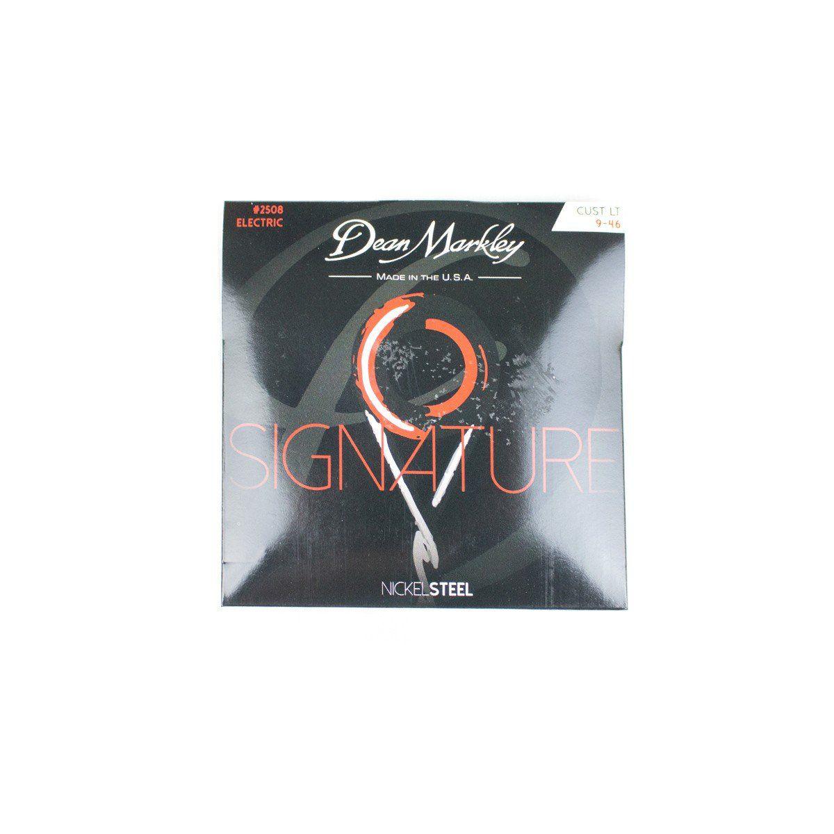 Encordoamento Guitarra Dean Markley Nickel Steel 09 46 - #2508 DEAN MARKLEY