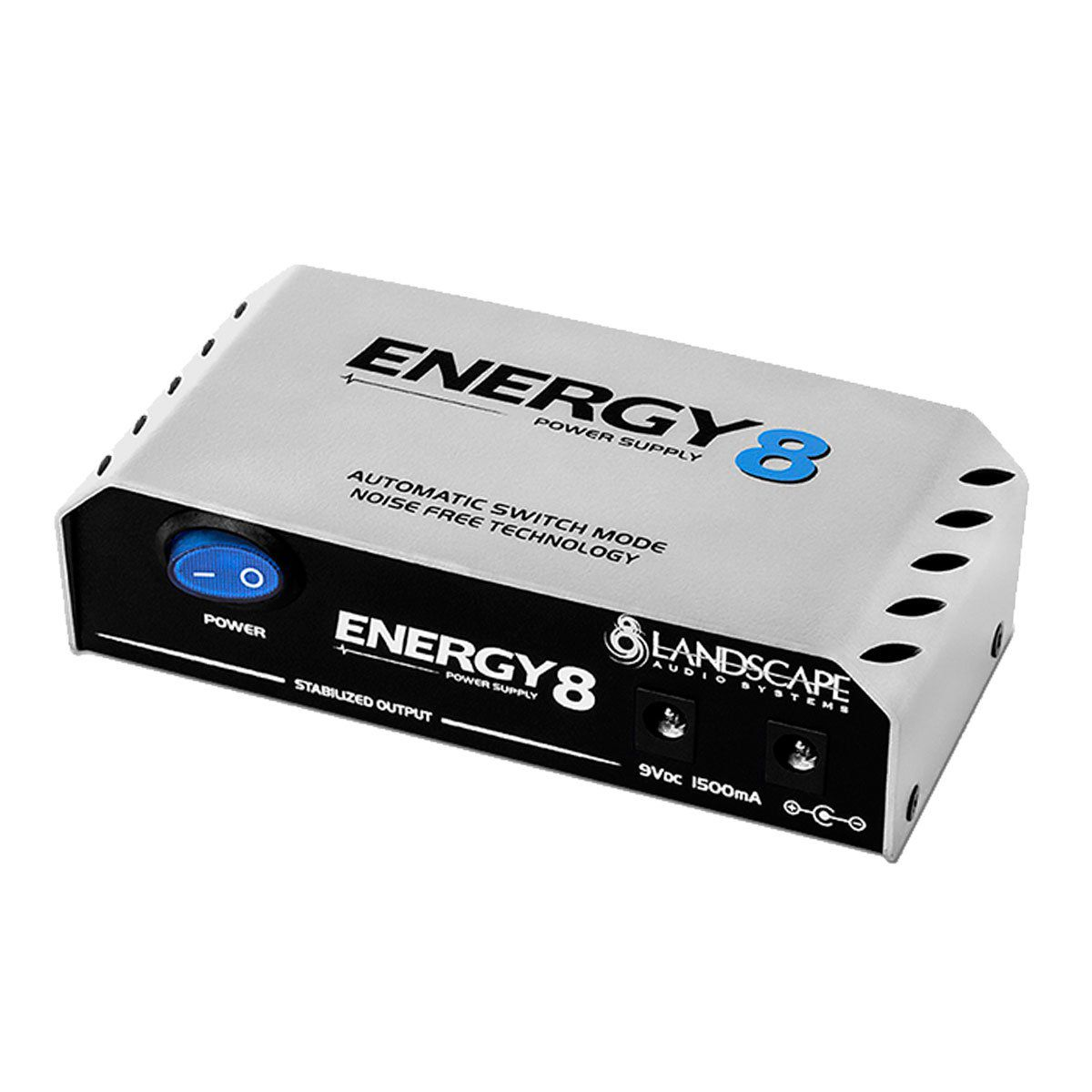 Fonte Automática de 9V DC 1500mA 8 Plugs - Energy 8 Landscape