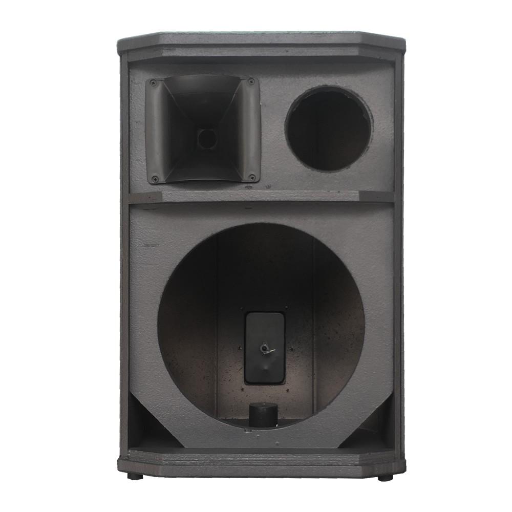 Gabinete Vazio 3 Vias Para Caixa Acústica Falante 12 polegadas + Super Tweeter + Corneta