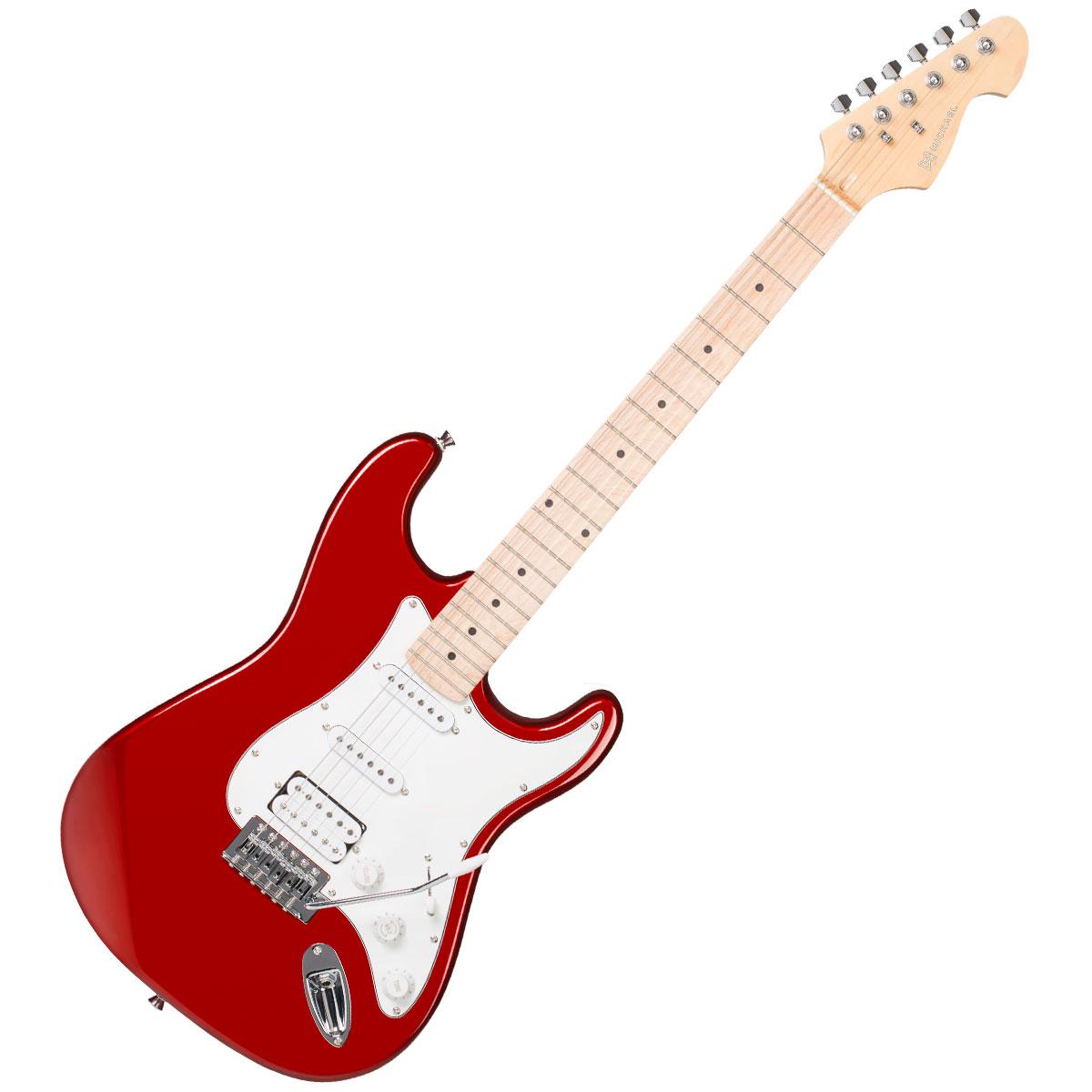 Guitarra Strato Power Advanced GM237 MR Vermelha Metálica - Michael