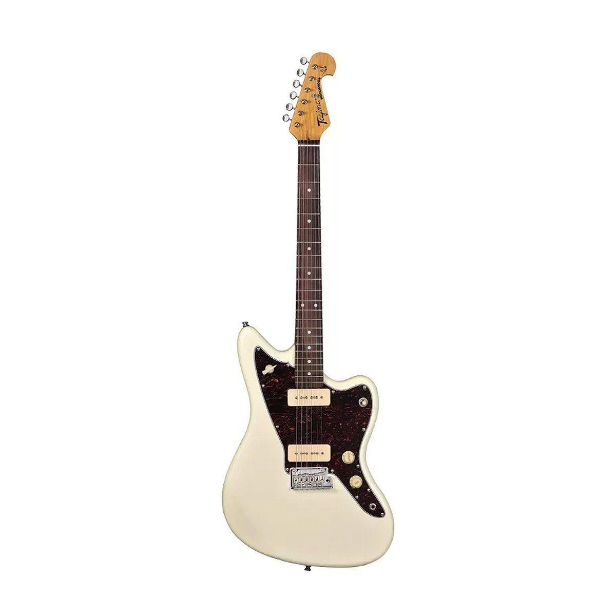 Guitarra Woodstock White Vintage Tagima TW 61