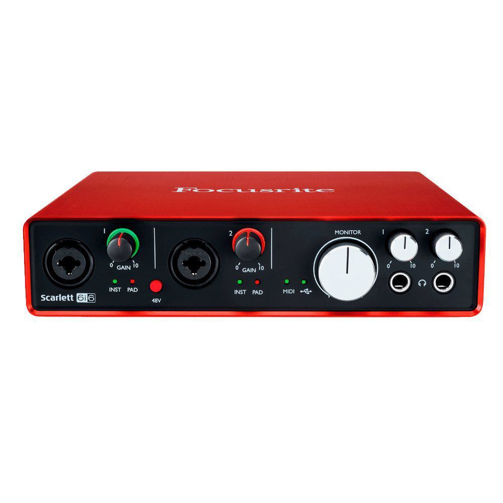 Interface de Áudio SCARLETT 6i6 Focusrite