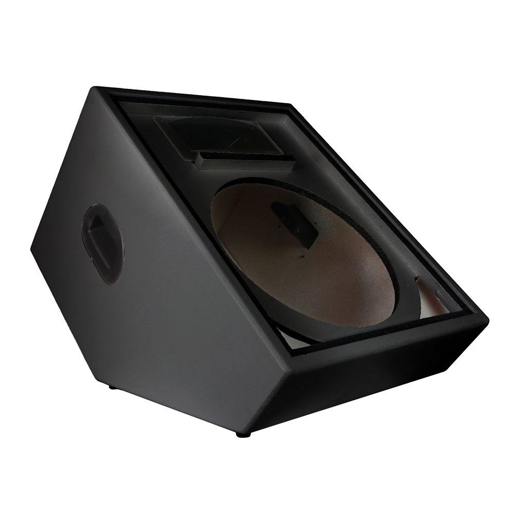 """Gabinetes para monitor de palco 2 vias 15"""" polegadas kit com 2 caixas SomPlus"""