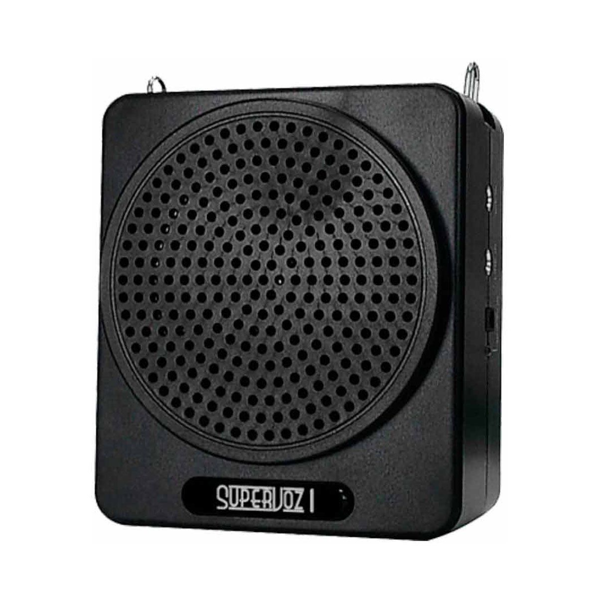 Kit Professor Portátil (Caixa 8W + Microfone c/ Fio) Supervoz I - 625 TSI
