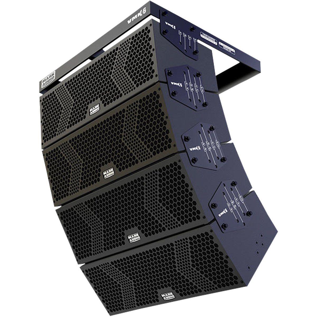 Line Array Ativo Mark Audio VMK 6 Falante 6 Polegadas 500W