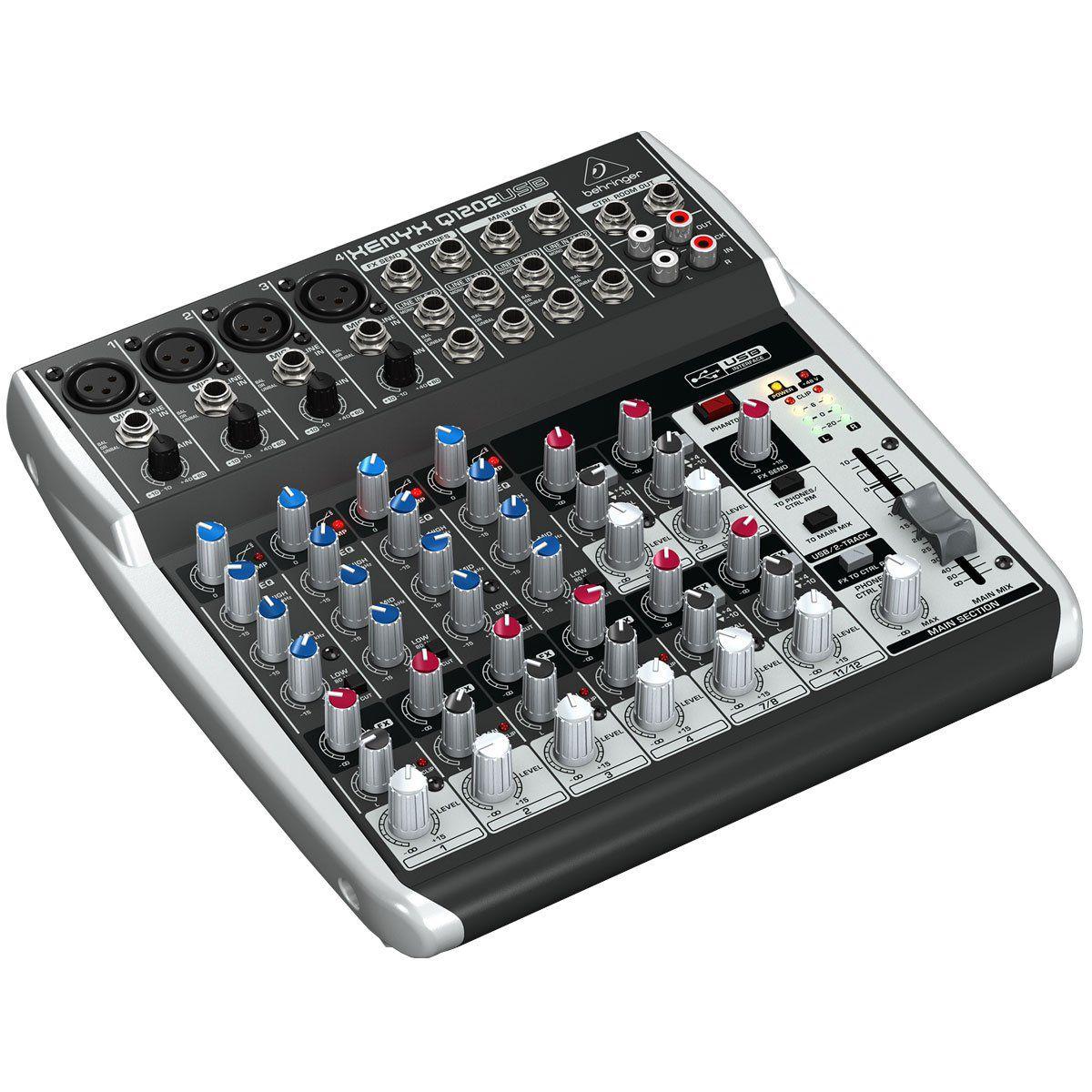 Mixer Xenyx 110V - Q1202USB - Behringer