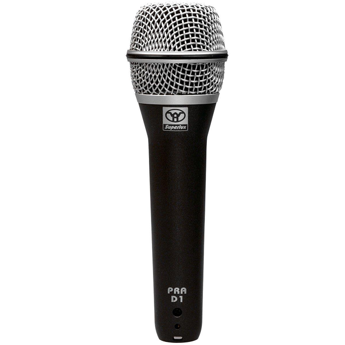Microfone c/ Fio de Mão Dinâmico - PRA D 1 Superlux