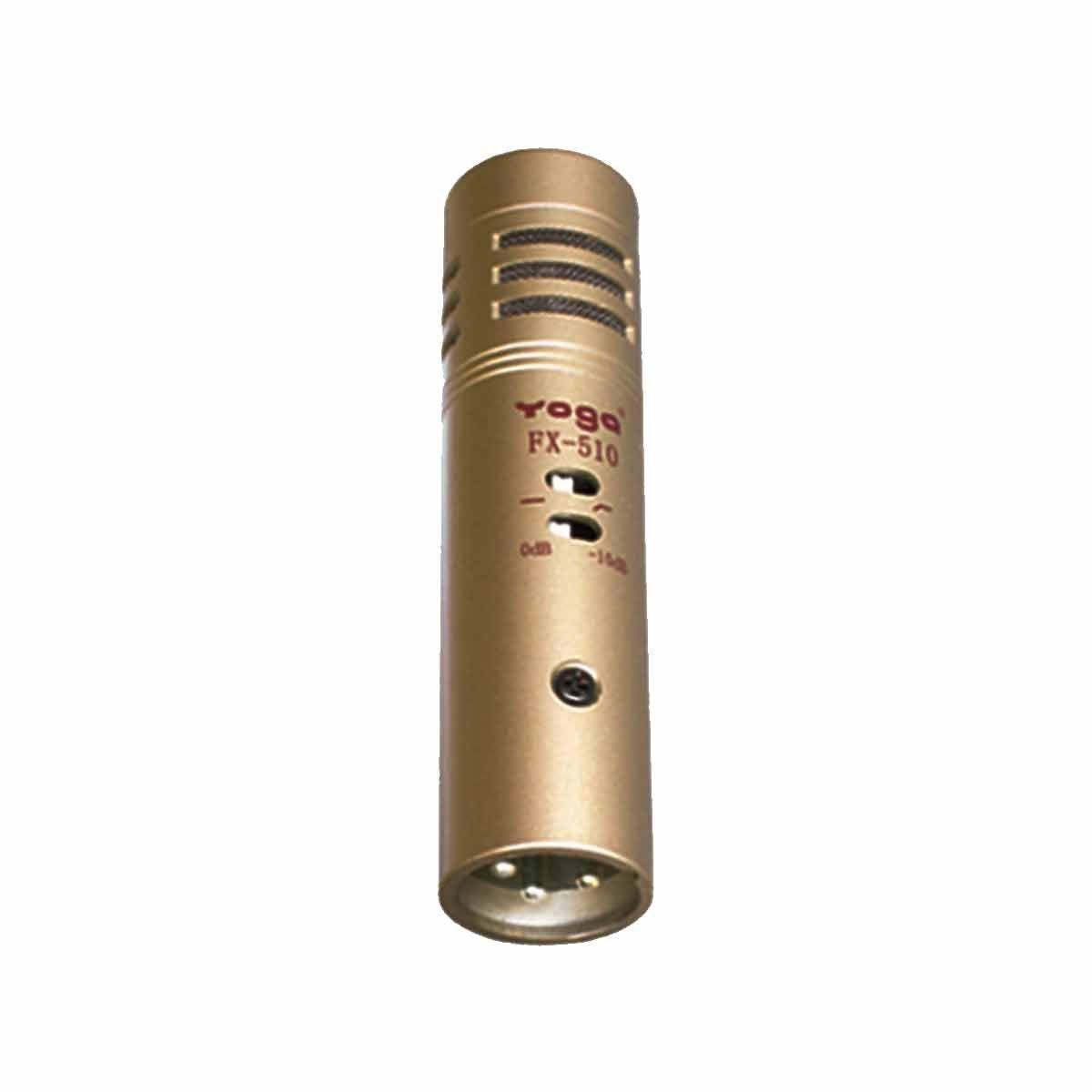 Microfone c/ Fio p/ Instrumentos / Pratos - FX 510 L Yoga